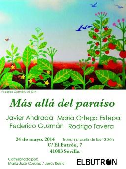 Más allá del paraíso- Sábado 24 de mayo 13.30h/Inauguración+brunch