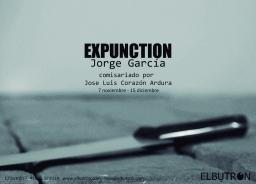 EXPUNCTION_Jorge García: 7 Nov-15 Dic