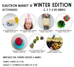 Actividades de Elbutrón Market III Winter edition: Talleres