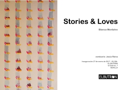 Stories & Loves – Blanca Montalvo
